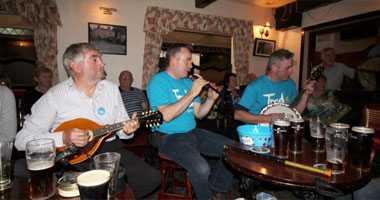 Tradtional irish music
