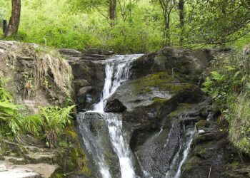 Glenbarrow Waterfall Slieve Bloom Mountaions Laois
